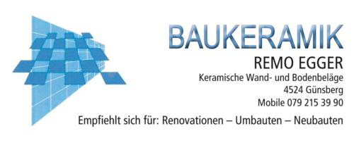Remo Egger Baukeramik